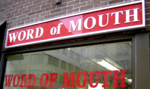 Word of Mouth is an Important aspect of Social Marketing